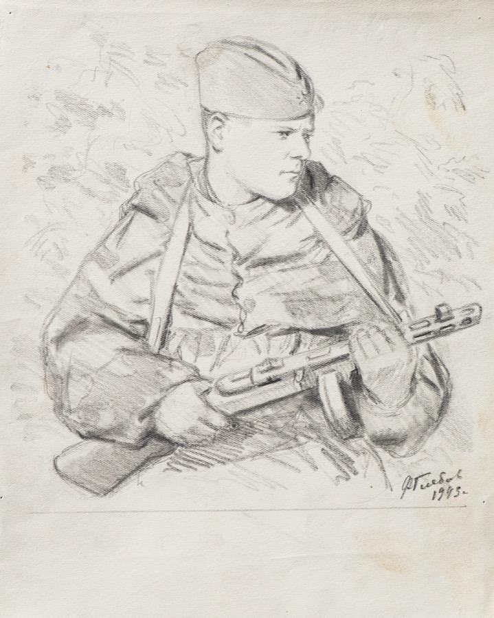 рисунки карандашом солдат вов делают выбор пользу